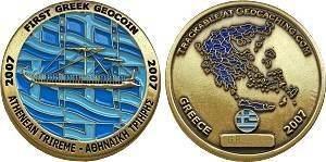 First Greek Geocoin 2007