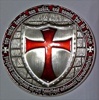 Matze´s Templar Coin_Front