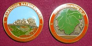 2016 Dartmoor National Park Geocoin