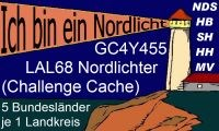 LAL68 Nordlichter bronze
