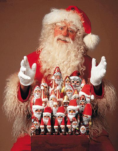 Weihnachtmänner heute