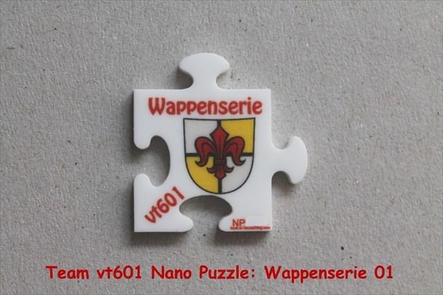 Team vt601 Nano Puzzle: Wappenserie 01