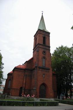 Pohled na evangelicky kostel v Bohumine