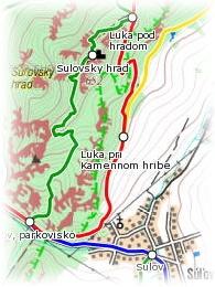 Hiking.sk mapa