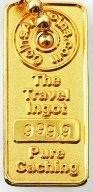 Golden Travel Ingot