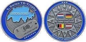 Swiss TB-Trophy Geocoin