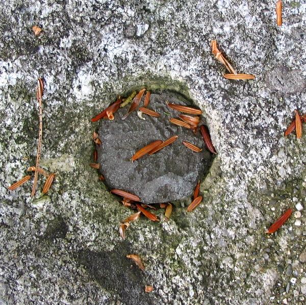 (Photo of concrete Range  Mark)