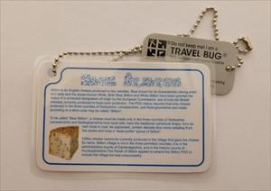 Blue Stilton Travel Bug