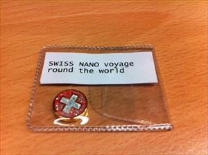 SWISS NANO voyage round the world