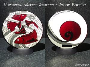 Elemental Water Geocoin - Asian Pacific