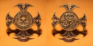 Celtic Cross I Geocoin