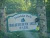 Gingerbread Man Visits Blueberry Hill Park