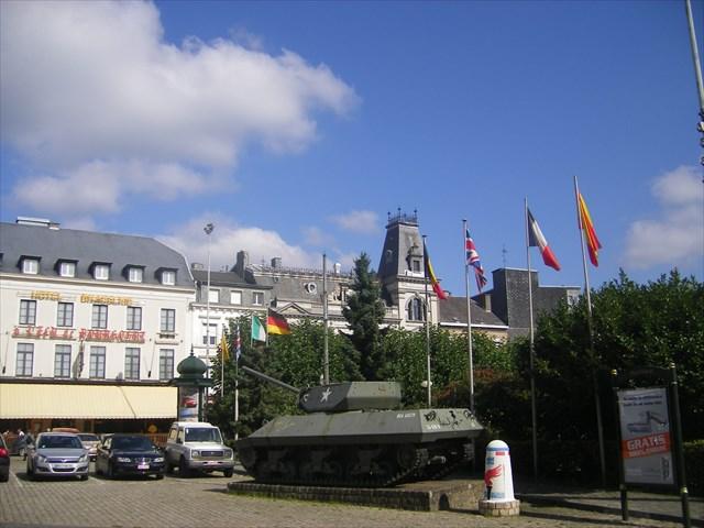 Borne finale à Arlon en Belgique