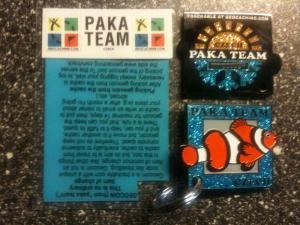 PAKA TEAM geocoin