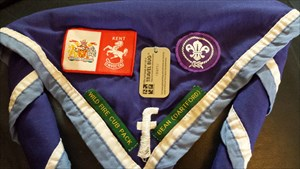 Lumi's 1st Facebook Scout Group Neckerchief