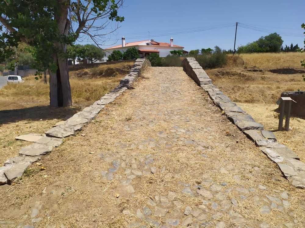 Ponte romana vista frontal