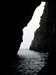 Atravessando uma gruta log image