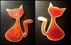 CacheCat Geocoin - Mischievous Cat