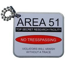AREA 51 TRAVEL TAG
