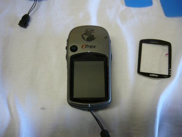 Replacing a screen cover on the Garmin Etrex Vista