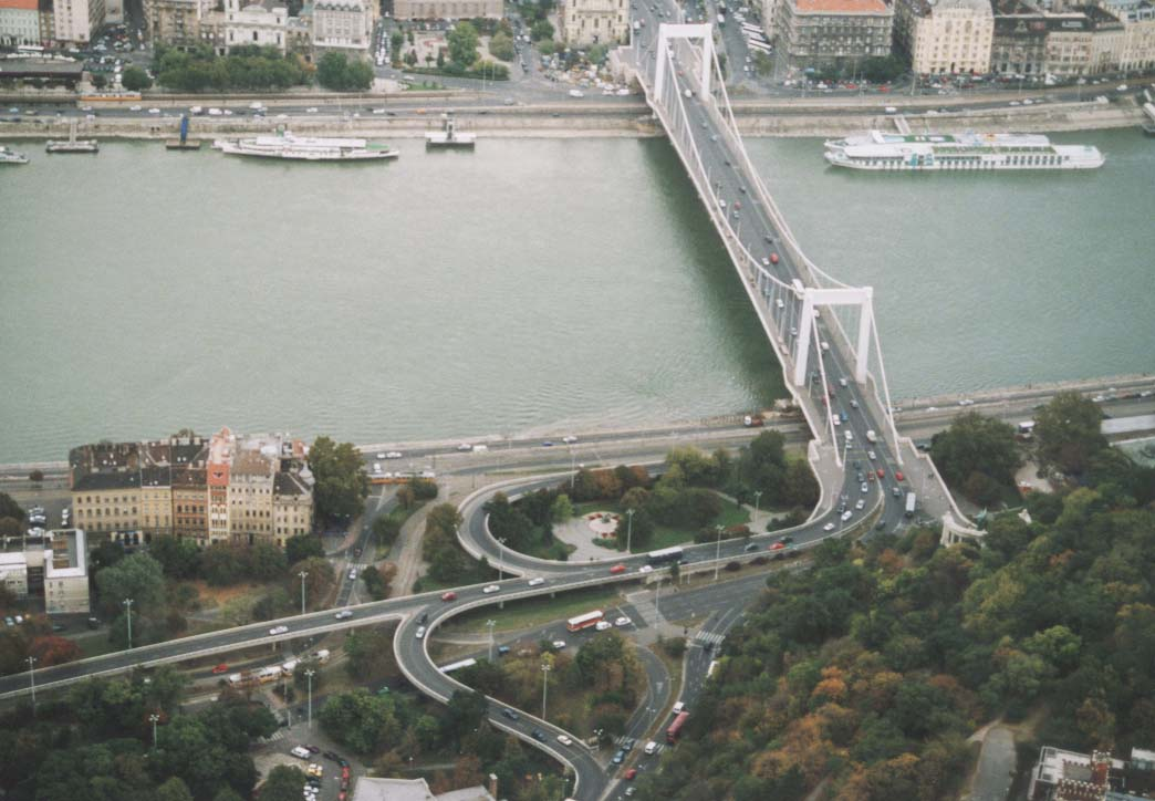 The bridge from above