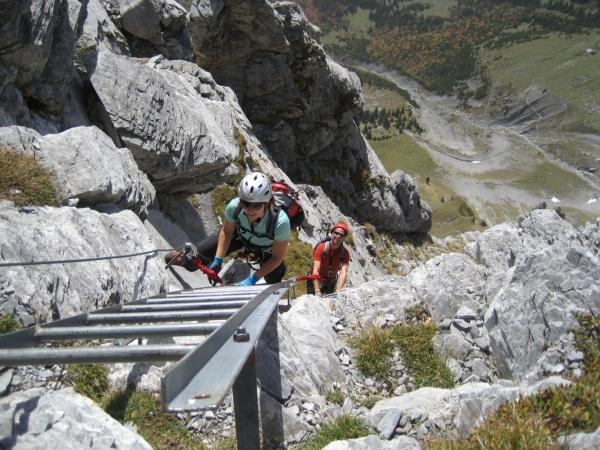 Klettersteig Tälli : Klettersteig beschreibung brunnistöckli