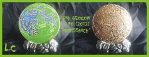 LUNA Geocoin - Renaissance 2012