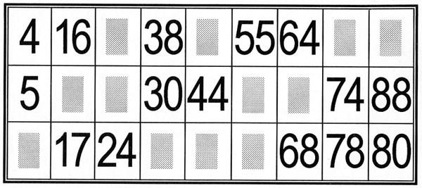 Carton de loto quine a imprimer - Grille de bingo a imprimer gratuit ...