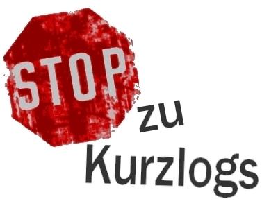 STOP zu Kurzlogs