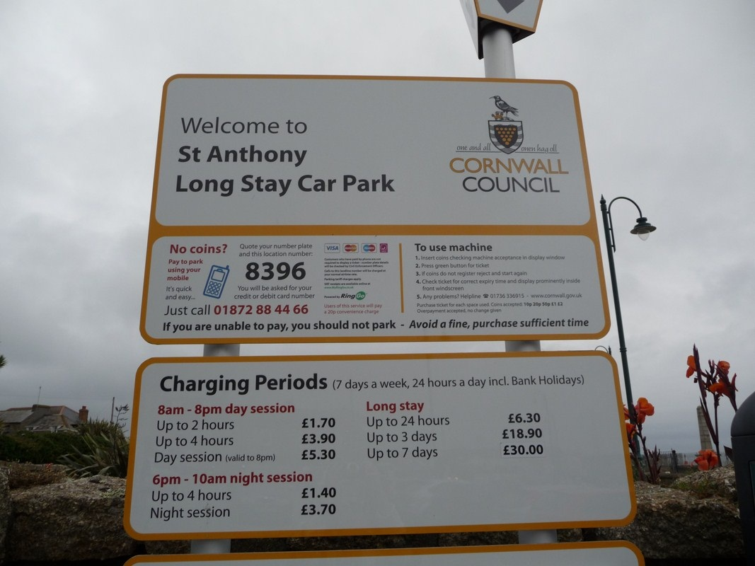 Harbour Long Stay Car Park Penzance