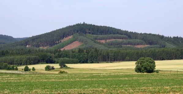 Krakovsky vrch od vychodu