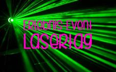 Lasertag-Banner