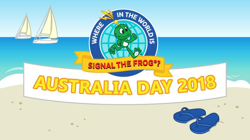 The Frog celebrates in Australia