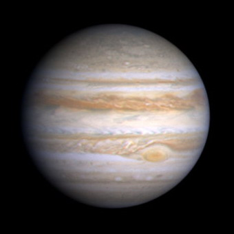 Jupiter by Cassini
