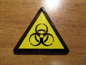 Biohazard Geocoin ;-)