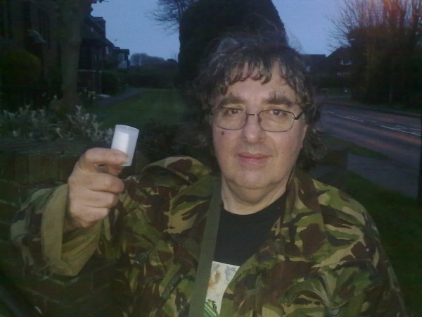 The sollymeister, finding his 19,000th cache in April