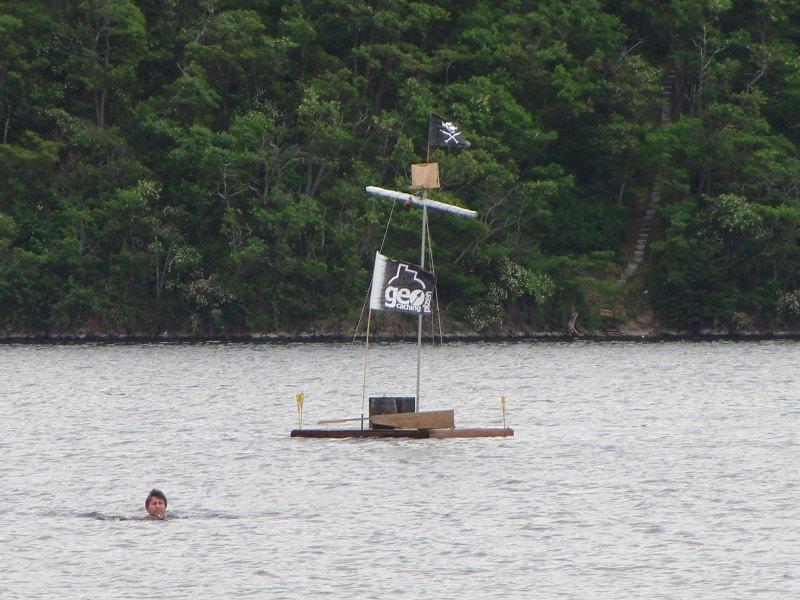 pirátský vor - foto Malyvena
