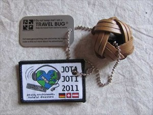 Travelbug JOTI 2011