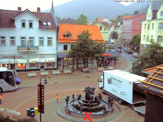 Webcam: Bitte genau dort hinstellen