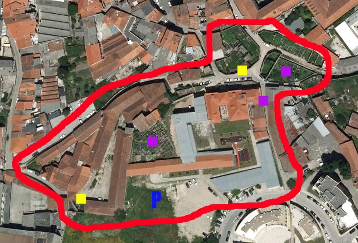 rio de couros mapa GC39RX2 #09   Couros (Rio de) v.2 (Multi cache) in Braga, Portugal  rio de couros mapa