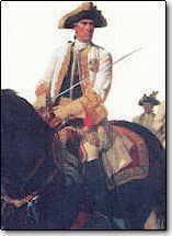 General von Laudon na koni