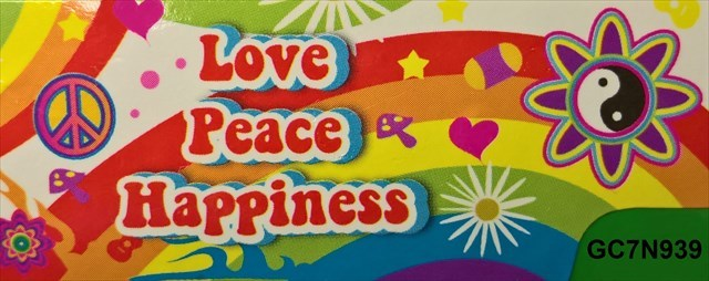 GC60N60 Love Peace And Happiness 60 Traditional Cache In Magnificent Love Peace Happiness