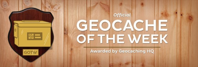 Geocache of the Week banner