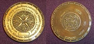 Mapamundi Coin