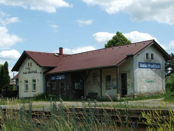 nádraží Malá Hraštice