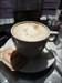 Cappuccino na het vinden van de cache!