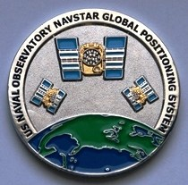 NAVSTAR coin Front