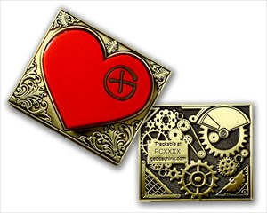 swama Steampunk Heart