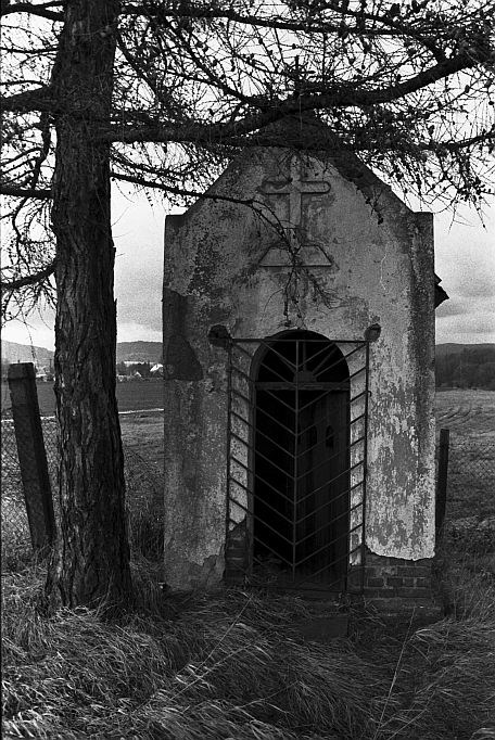 Kaplička v roce 2005