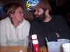 Marsha and Silent Bob. log image